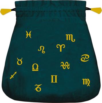 Bild på Tarotpåse: astrologi (sammet)