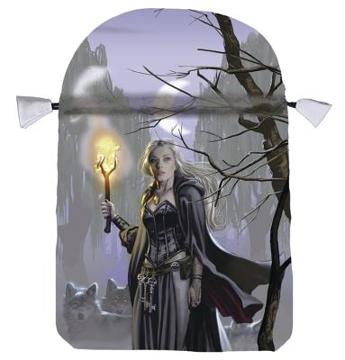 Bild på Tarotpåse: Witches Moon (satäng)