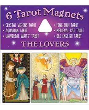 Bild på Tarotmagneter: The Lovers (de älskande)
