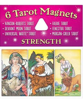 Bild på Tarotmagneter: Strength (styrka)