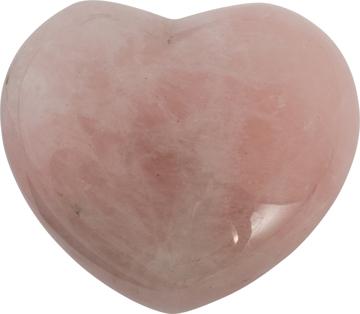 Bild på Hjärta: rosenkvarts