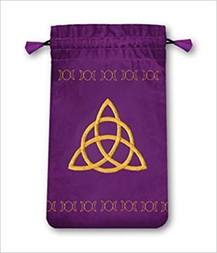 Bild på Tarotpåse liten: wicca (sammet)