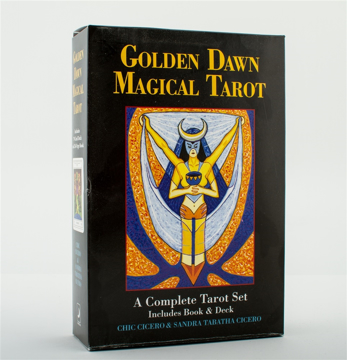 Bild på Golden dawn magical tarot - a complete tarot set
