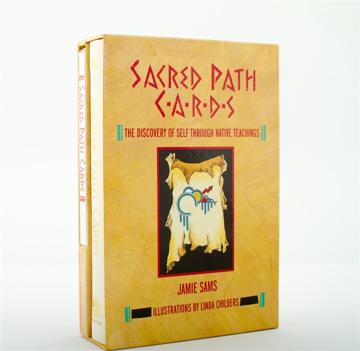 Bild på Sacred Path Cards (Booklet + 44 card deck)