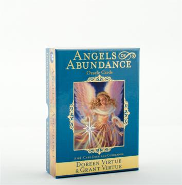 Bild på Angels of Abundance Oracle Cards