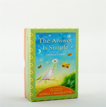 Bild på Answer is simple oracle cards