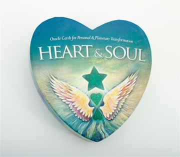 Bild på Heart & Soul Cards (54 Heart Shaped Cards In A Heart Shaped Box)