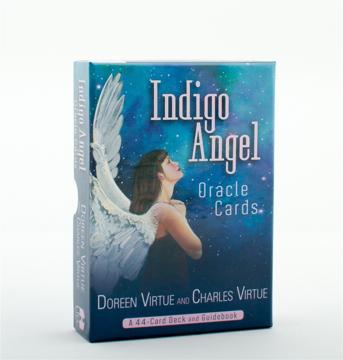 Bild på Indigo Angel Oracle Cards