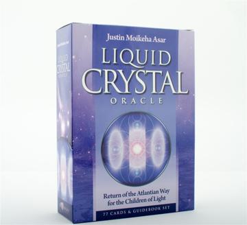 Bild på Liquid Crystal Oracle Deck [77 cards, 292 pg guidebook]