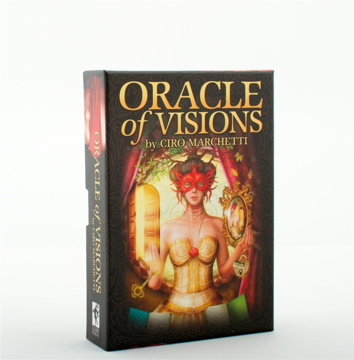 Bild på Oracle of Visions (52-card deck & instruction booklet)