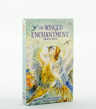 Bild på The Winged Enchantment Oracle deck (39-card deck & 48-page guidebook)
