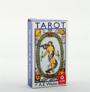 Bild på A.E. Waite Tarot Standard Blue Edition