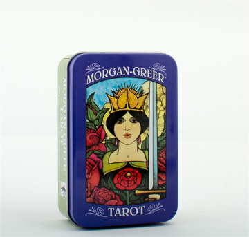 Bild på Morgan-Greer Tarot in a Tin