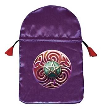 Bild på Tarotpåse: Magic Star (satäng)
