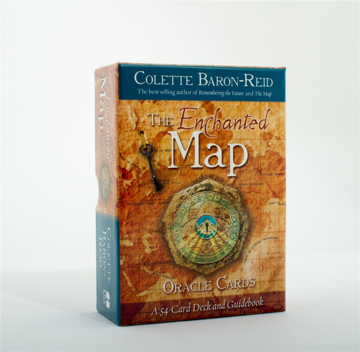 Bild på The Enchanted Map Oracle Cards
