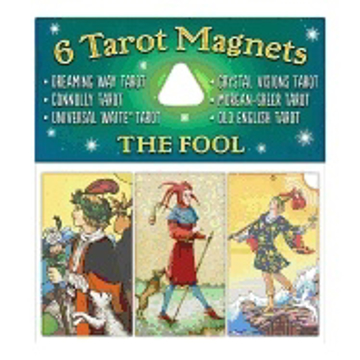 Bild på Tarotmagneter: The Fool (narren)