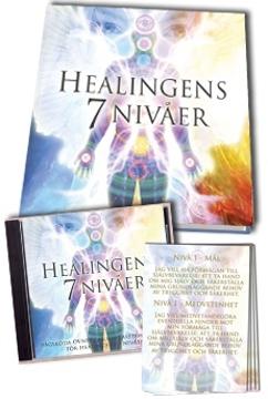 Bild på Healingens sju nivåer (21 kort)