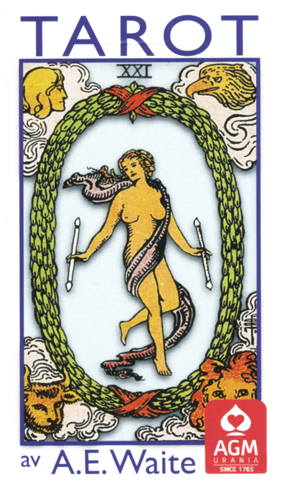 Bild på Rider-Waite svensk tarot (pocket)
