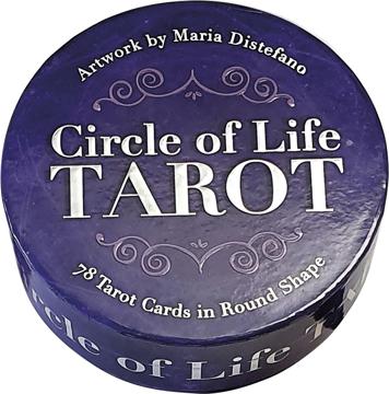Bild på Circle of Life Tarot (new edition - round box and cards)