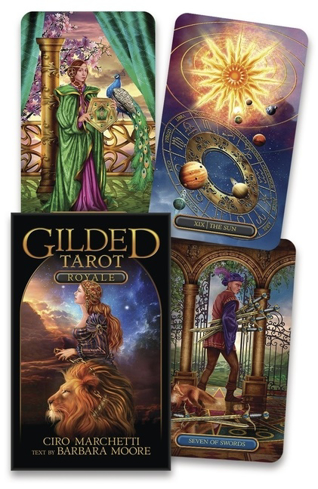 Bild på Gilded Tarot Royale Deck
