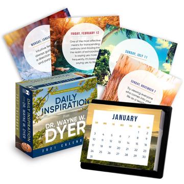 Bild på Daily Inspiration from Dr. Wayne W. Dyer 2021 Calendar