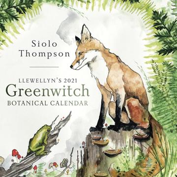 Bild på Llewellyn's 2021 Greenwitch Botanical Calend