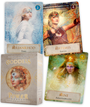 Bild på Goddess Power Oracle Cards Kit