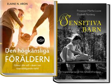 Bild på Paketpris Den högkänsliga föräldern + Sensitiva barn