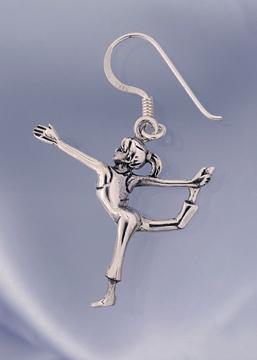 Bild på Dansaren silver örhänge