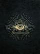 Bild på Symbols Black Allseeing Eye
