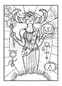 Bild på Engraved The Empress