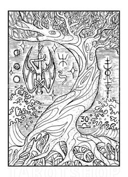 Bild på Engraved The Hanged Man