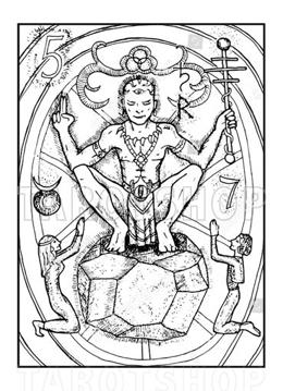 Bild på Engraved The Hierophant