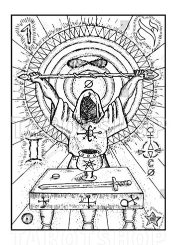 Bild på Engraved The Magician