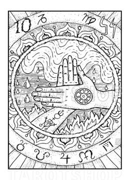 Bild på Engraved Wheel of Fortune