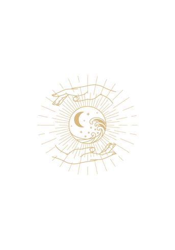 Bild på Symbols White Earth in our Hands