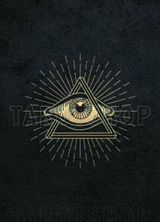 Bild på Allseeing Eye (13x18 cm) Black