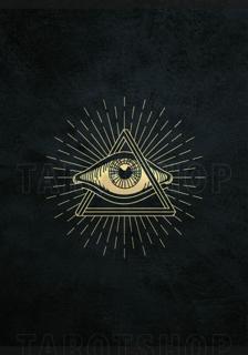 Bild på Allseeing Eye (70x100 cm) Black
