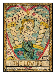 Bild på Mystic The Lovers (30x40 cm)