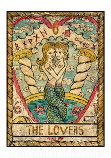 Bild på Mystic The Lovers (70x100 cm)