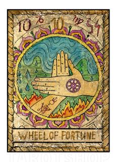 Bild på Mystic Wheel of Fortune (13x18 cm)