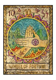 Bild på Mystic Wheel of Fortune (21x30 cm)