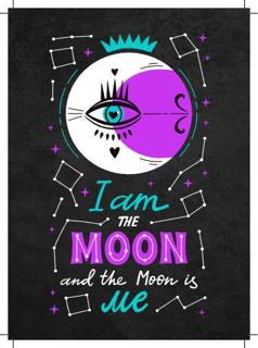 Bild på I Am The Moon (13x18)