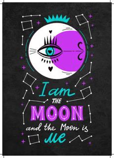 Bild på I Am The Moon (21x30)