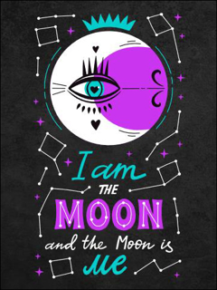 Bild på I Am The Moon (30x40)