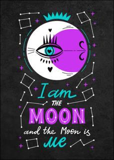 Bild på I Am The Moon (50x70)