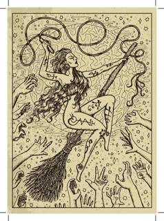 Bild på Lenormand Engraved Whip (13x18)
