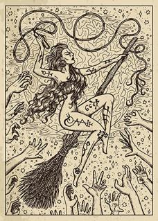 Bild på Lenormand Engraved Whip (21x30)